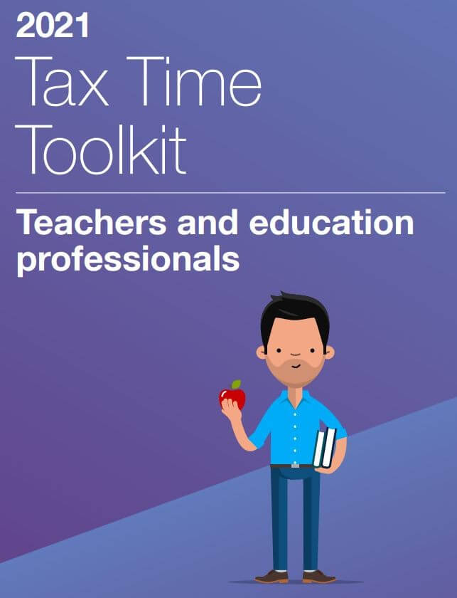 ATO Tax Time 2021 - Teachers and Educational Professionals Toolkit